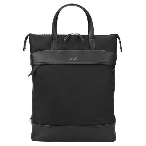 15 inch Newport Convertible 2-in-1 Tote Backpack Black