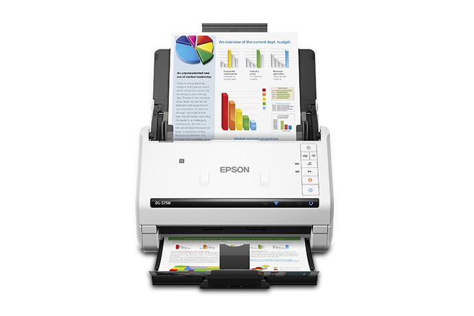 Epson DS-575W Wireless Document Scanner