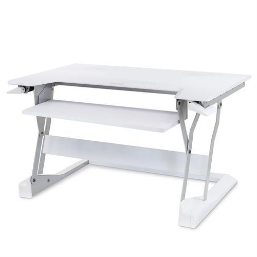 Ergotron WorkFit-T Standing Desk Workstation white