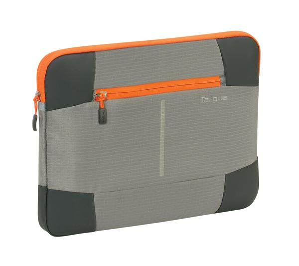 Targus 15.6 inch Bex II Sleeve Gray-Orange