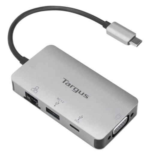 USB-C DP Alt Mode Single Video VGA Docking Station with 100W PD