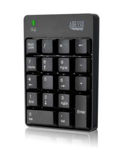 Adess0 Wireless Spill Resistant Numeric Keypad