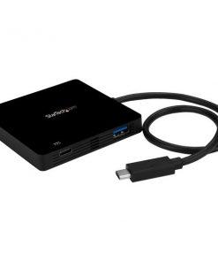 Startech USB-C to 3 USB-A Hub HB30C3APD