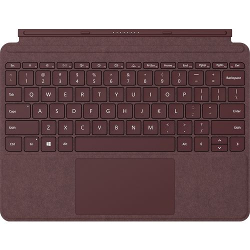 Surface Go Type Keyboard Cover - Burgundy KCT-00041