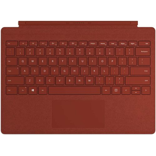 Surface Go Type Keyboard Cover - Poppy Red KCT-00061